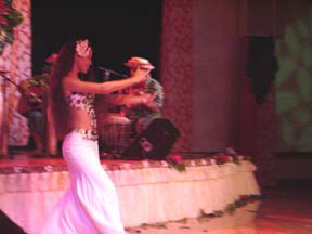 Tahitian Dancer Solo