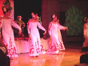 Tahitian Dancer WhtSkt